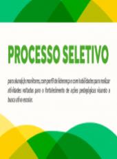 Processo Seletivo para Alunos(as) Monitores – #BuscaAtivaEscolar